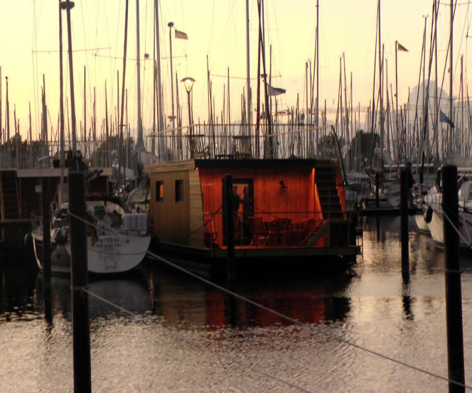 Slider Abendstimmung Marina Heiligenhafen
