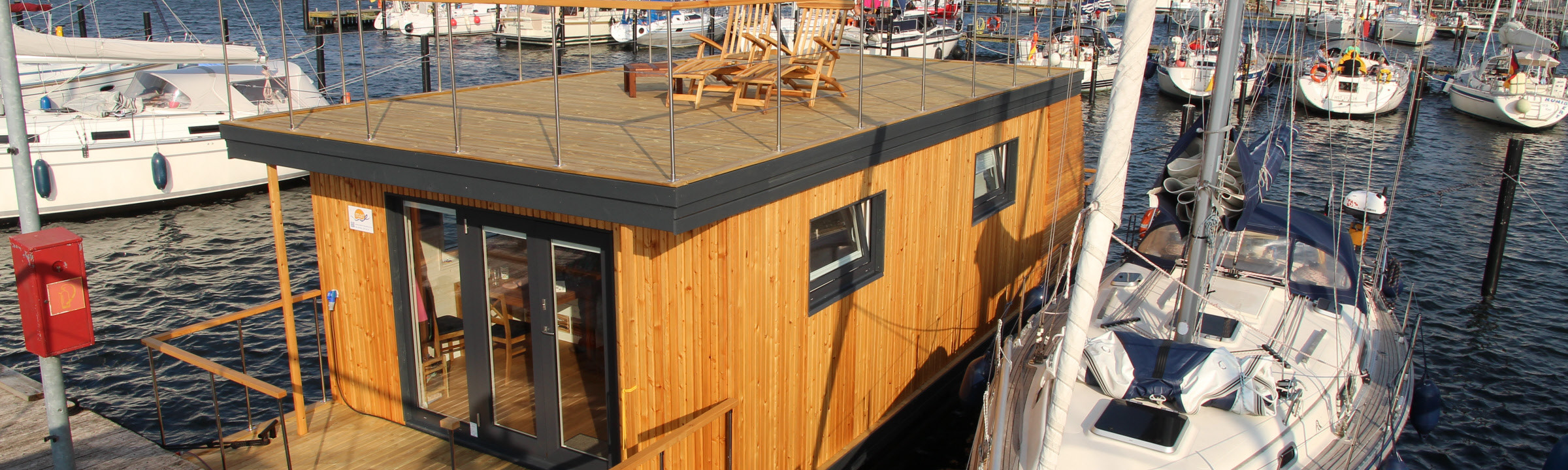 Hausboot – Ostsee, Heiligenhafen