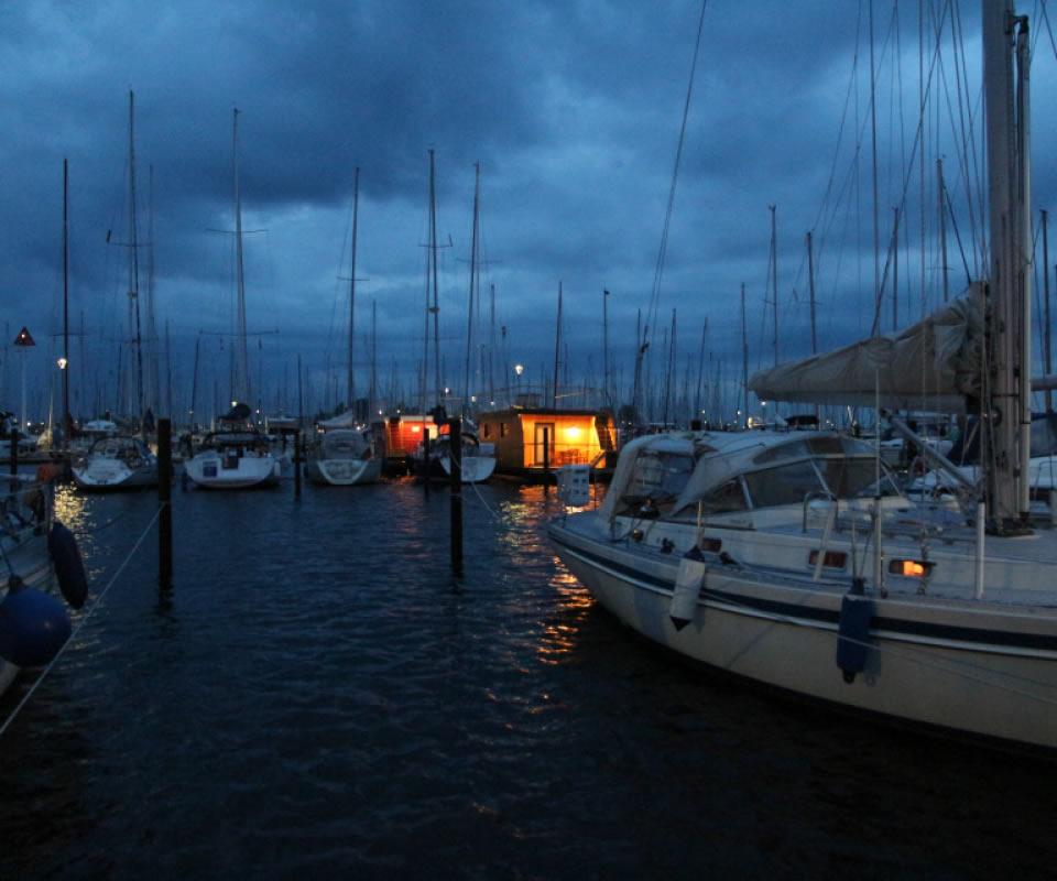Slider Marina Heiligenhafen Abend