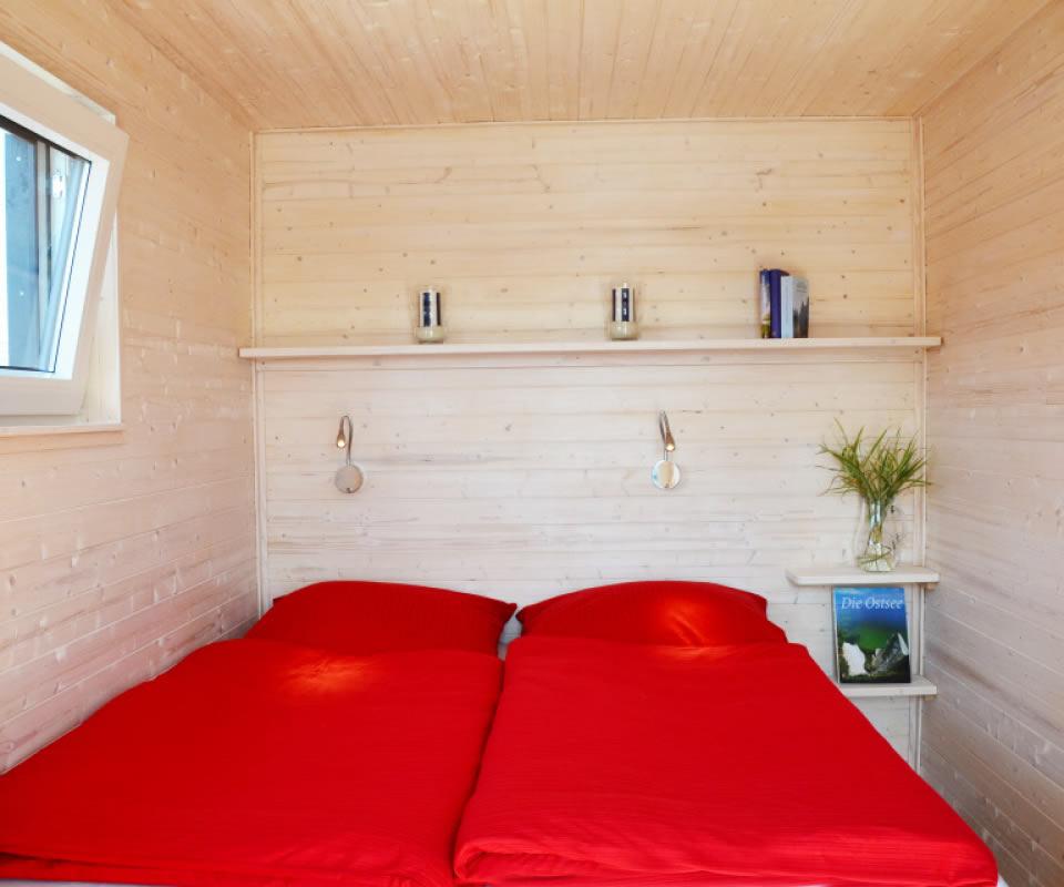 Slider Schlafzimmer Hausboot