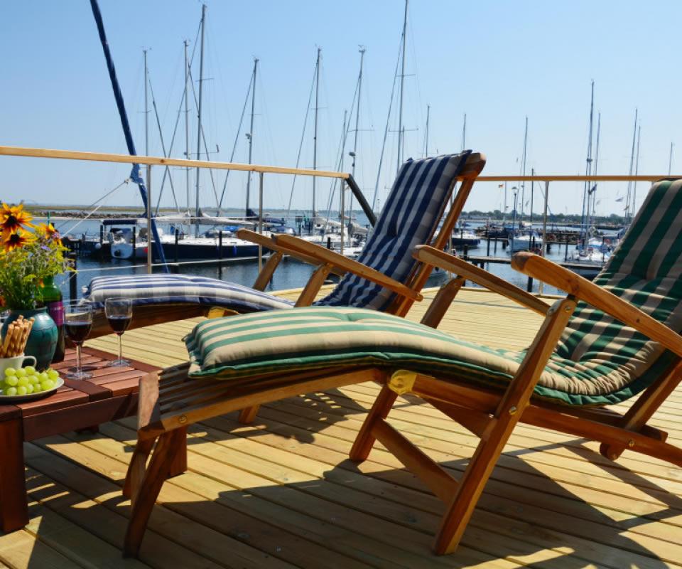 Slider Sonnendeck Hausboot